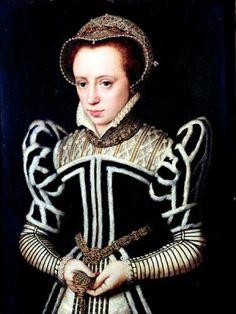 Said to be Mary Tudor, daughter of Henry the VIII and Catherine of Aragon Mode Renaissance, Costume Renaissance, Renaissance Portraits, Renaissance Fashion, Marie Tudor, Dinastia Tudor, Tudor History, British History, 16th Century Fashion