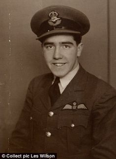 Nigel Drever (pictured) got his RAF wings at the age of 19 on the day war broke out in 1939