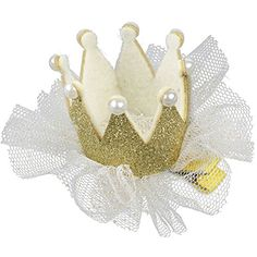 niceeshop(TM) Süß Schnee Garn Prinzessin Baby Haar Clips Haarspange,Golden - http://schmuckhaus.online/niceeshop/golden-niceeshop-tm-suess-schnee-garn-prinzessin