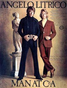 #1970s Mens Fashion Ad    Please Like Thank you! :)