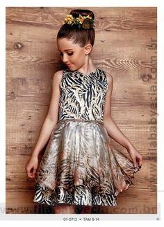Vestido Juvenil Diforini Moda Infanto Juvenil 010713