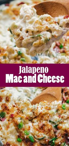 Jalapeno Mac and Cheese is kicked up version of the delicious mac and cheese we all know and love. Perfect for a weeknight comfort food delight that will be creamy and satisfying. Bacon Jalapeno Mac And Cheese, Stuffed Jalapenos With Bacon, Jalapeno Recipes, Macaroni Cheese Recipes, Pasta Recipes, Best Macaroni And Cheese, Noodle Recipes, Yummy Recipes, Vegan Recipes