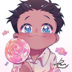 the promised neverland phil Me Anime, Fanarts Anime, I Love Anime, Otaku Anime, Anime Chibi, Anime Guys, Anime Characters, Manga Anime, Anime Art