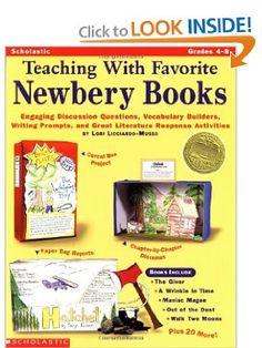 Newbery book report project