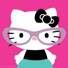 #HelloKitty sporting some supercute specs
