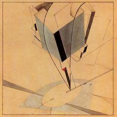 "El Lissitzky /  ""Proun 5A"" /1919  /"