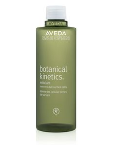 SENSITIVE SKIN: It's best to stay away from detergents, perfumes, acids, alcohol, & retinols. Go for ingredients such as chamomile or soy.  But exfoliation is needed to remove dead skin cells. That's why AVEDA BIOTANICAL KINETICS EXFOLIANT is perfect for your sensitive skin! It's non-abrasive liquid reveals a smoother, clearer, more refined complexion beneath.    www.terrabacio.com