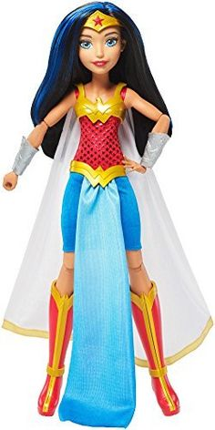 cd010ccf5cd3b DC Super Hero Girls Premium Wonder Woman Action Doll