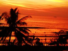 Sunset at Kuta Beach - Bali www.facebook.com/placesbali