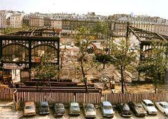 Démolition des halles 1974 © Robert Doisneau