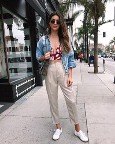 spring essentials I'm loving – Lauren Kay Sims Look Fashion, Girl Fashion, Fashion Outfits, Spring Look, Lauren Kay Sims, Women Empowerment Quotes, Casual Outfits, Cute Outfits, Moda Vintage