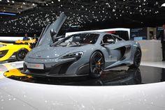 McLaren 675LT : série limitée à 500 exemplaires pour la supersportive : Salon de Genève 2015 : les voitures de luxe et de sport à l'honneur - Linternaute
