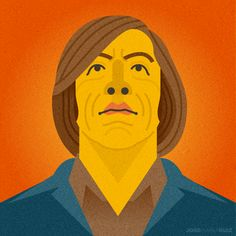 No Country for Old Men by Jose Maria Ruiz, via Behance