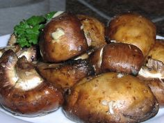 Grilled Marinated Mushrooms With No Salt