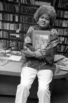 An image of Mayme Clayton from 1973. She started her collection of African American history in her garage and grew it into the largest private collection of African-American works in the United States. In 2006, the Culver City council voted to allow Mayme's collection to be housed at the former courthouse on Overland Boulevard. It would be called the Mayme A. Clayton Library & Museum.
