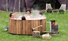 Okay. So pretty much all of these backyard accessories are amazing. Also, I feel like @jaedyn87 will particularly like the wood-burning hot tub (DIY project maybe?). I feel like it might even fit on your patio ;]