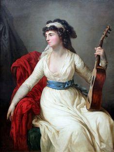 1796 The Athenaeum - Countess Tina von Brohl (Anton Graff - )