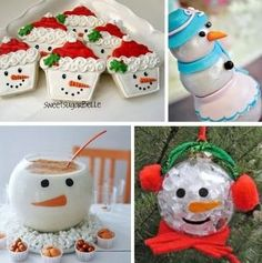 Winter Wonderland Snowman Desserts, Decorations, and Crafts   Blowout Party, making parties fabulous and fun! by haleyscomet