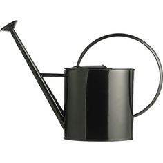 GALZONE Coated zinc watering can ($3.66) ❤ liked on Polyvore featuring home, outdoors, garden tools and filler