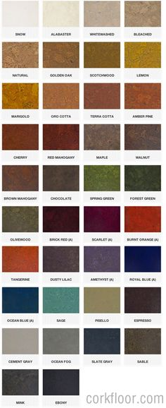 Globus_cork_tile_colors     This site just looks like it would be worth keeping an eye on....