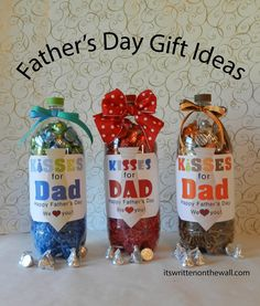 Easy Homemade Father's Day Gift Ideas (she: Mariah) - Or so she says...
