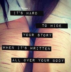 pics of self harm cuts | self harm - image #1520710 by aaron_s on Favim.com