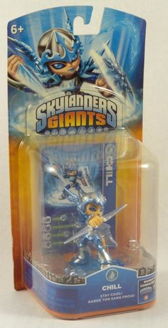 Skylanders Giants Single Character Pack Core Series 2 Chill Water NIP #Activision