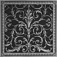 57 Best Decorative Grilles images in 2019 | Louis xiv, Iron work