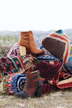 #CottageBooties #TillageVelvetWedges #TrotterBuckleBooties #Booties #Wedges #Anthropologie