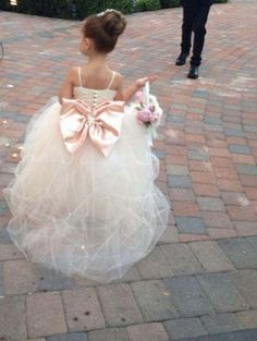 Flower Girl Dress Wedding Dress Bridal by IsabellaCoutureShop. I think I literally just died this is so cute! Flower Girl Dress Wedding Dress Bridal by IsabellaCoutureShop. I think I literally… Bridal Dresses, Girls Dresses, Bridesmaid Dresses, Pageant Dresses, Party Dresses, Dresses 2014, Sparkly Bridesmaids, Dresses Dresses, Dress Prom