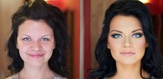 makeup transformation 9 A bit of a difference (11 photos)