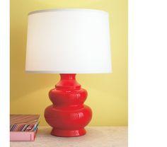 Crate Barrel Pagoda Lamp