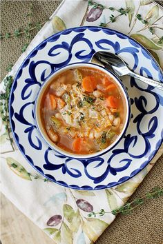Tuscan Style Vegetable Soup