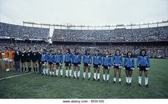World Cup Final between Argentina and Holland, played at Estadio River Plate football stadium in Argentina, June 25th 1978. - Stock Image