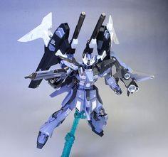 [2nd WORK] Tai's P-Bandai HGBF 1/144 Hi-Nu Gundam Influx. Big Size Images http://www.gunjap.net/site/?p=300997