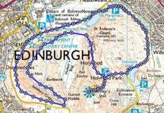 Explore Edinburgh with this loop around Arthur's Seat and Holyrood Park. Length of route: Approximately 5 mile; Suitable for: Walking or running Maps: OS Explorer Map 350 – Edinburgh; or download our OS MapFinder app; or use OS getamap. Find out more on our blog: http://www.ordnancesurvey.co.uk/blog/2013/11/arthurs-seat-and-holyrood-park-edinburgh/