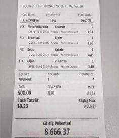 Vezi biletul de pariuri care i-a adus în acest weekend lui Adrian Copilul Minune  un câștig de peste 8,000RON! Poker, Athlete