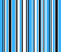 Coordinate Stripes 1 fabric by jadegordon on Spoonflower - custom fabric