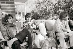 While My Guitar Gently Weeps: The India trip marked the most fertile beginnings of the songwriting for the White Album. (Copyright: Pattie Boyd)