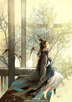Mỹ nữ cổ trang Chinese Picture, Chinese Artwork, Chinese Painting, Ancient China, Ancient Art, Chinese Cartoon, L5r, China Art, Creative Pictures