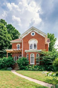 "The Fulton House is a stunning historical home located in quaint downtown Buchanan. This home is one of the original ""brick palaces"" and boasts Italian Renaissance architecture with car…"