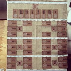 Table Plan Program, Table Plans, How To Plan, Holiday Decor, Diy, Bricolage, Plan De Tables, Do It Yourself, Homemade
