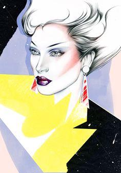 Natalia Sanabria - Fashion & Beauty illustrator, Costa Rica