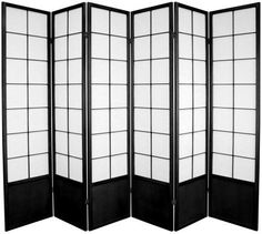 6 ft. Tall Zen Shoji Room Divider   RoomDividers.com