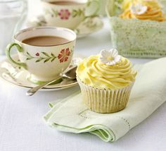 Lemon & Poppyseed Cuppies!   Just Made This Yesterday,So moist & yummy. Didn't try the icing though as the cuppycake was so good on its own : )