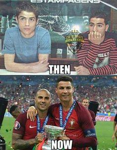 Ricardo Quaresma and Cristiano Ronaldo ;)