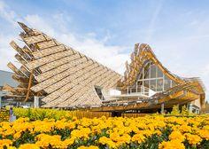 China Pavilion by Tsinghua University + Studio Link-Arc at Milan Expo Milan – Italy Expo Milano 2015, Expo 2015, Parametric Architecture, Art And Architecture, Architecture Wallpaper, Parametric Design, Amazing Architecture, Contemporary Architecture, Tsinghua University