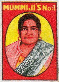 Vintage Indian Matchbook Labels | Brain Pickings