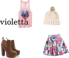 1000 Images About Violetta Style On Pinterest Fashion Looks Martina Stoessel And December