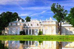 Chinese Palace built by Antonio Rinaldi at Oranienbaum, outside St Petersburg, Russia